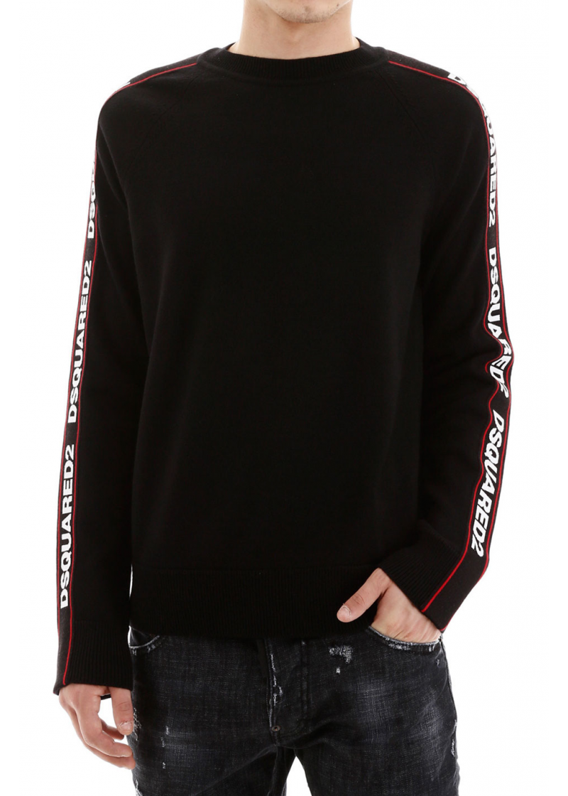 Pullover With Logo Bands - 3