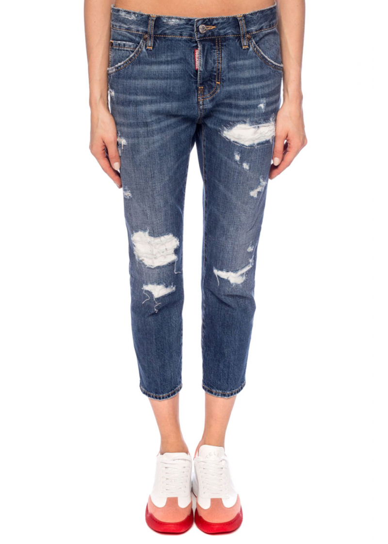 Cool Gril Cropped Jeans - 1