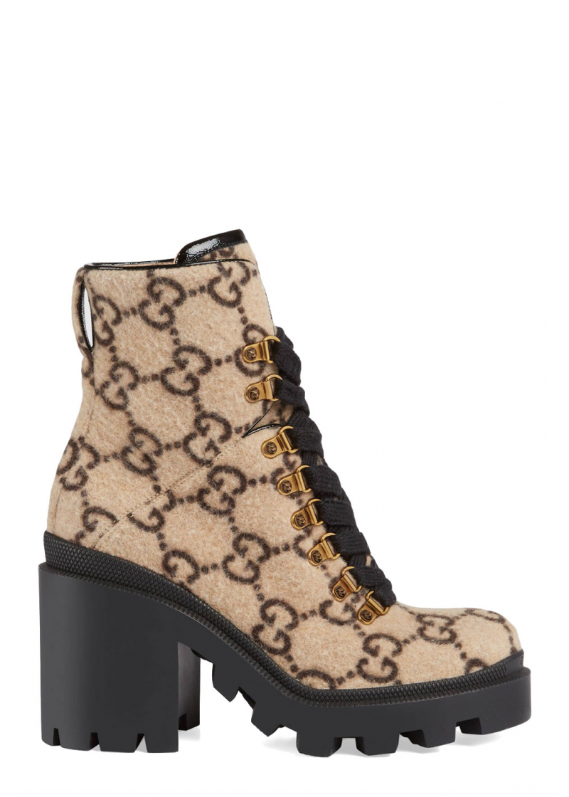 GG wool ankle boot - 5