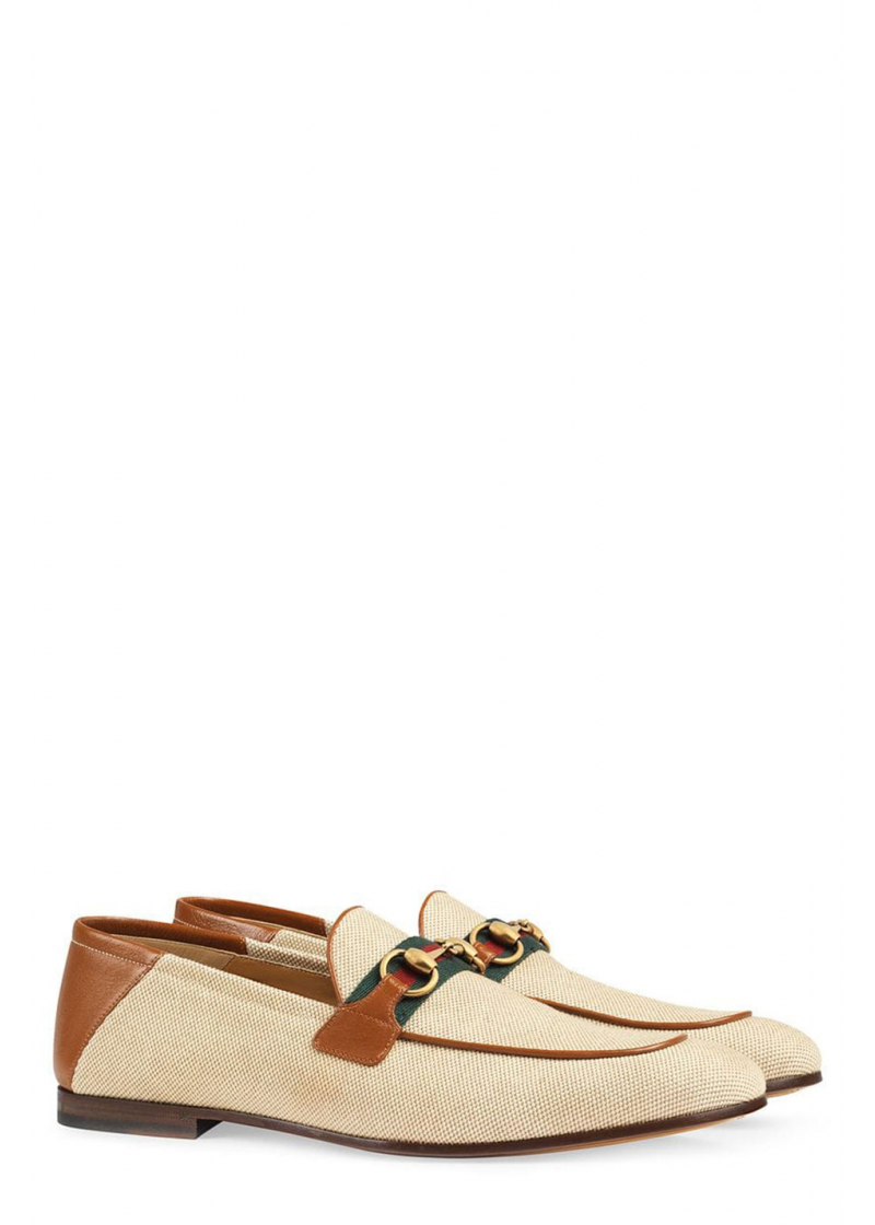 Horsebit loafer with Web - 2