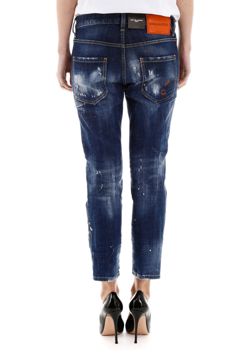 Cool Girl Cropped Jeans - 2