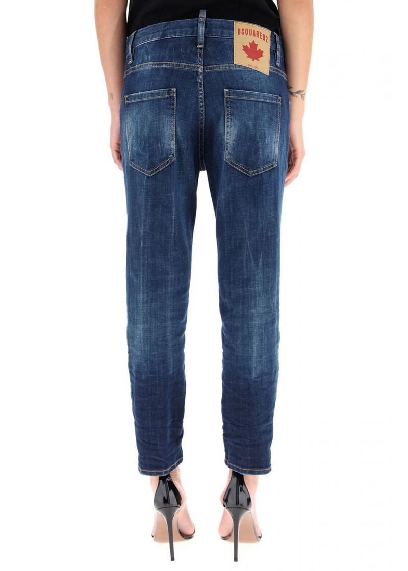 Cool Girl Cropped Jeans - 3