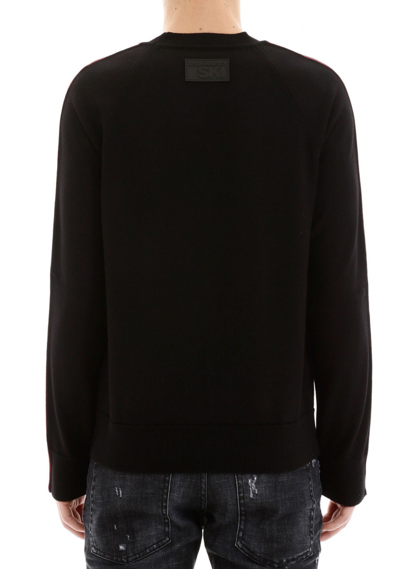 Pullover With Logo Bands - 2