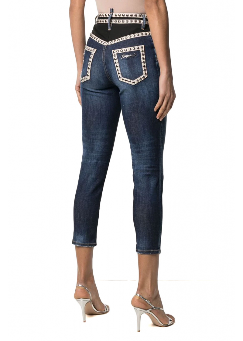High Waisted Twiggy Jeans - 3