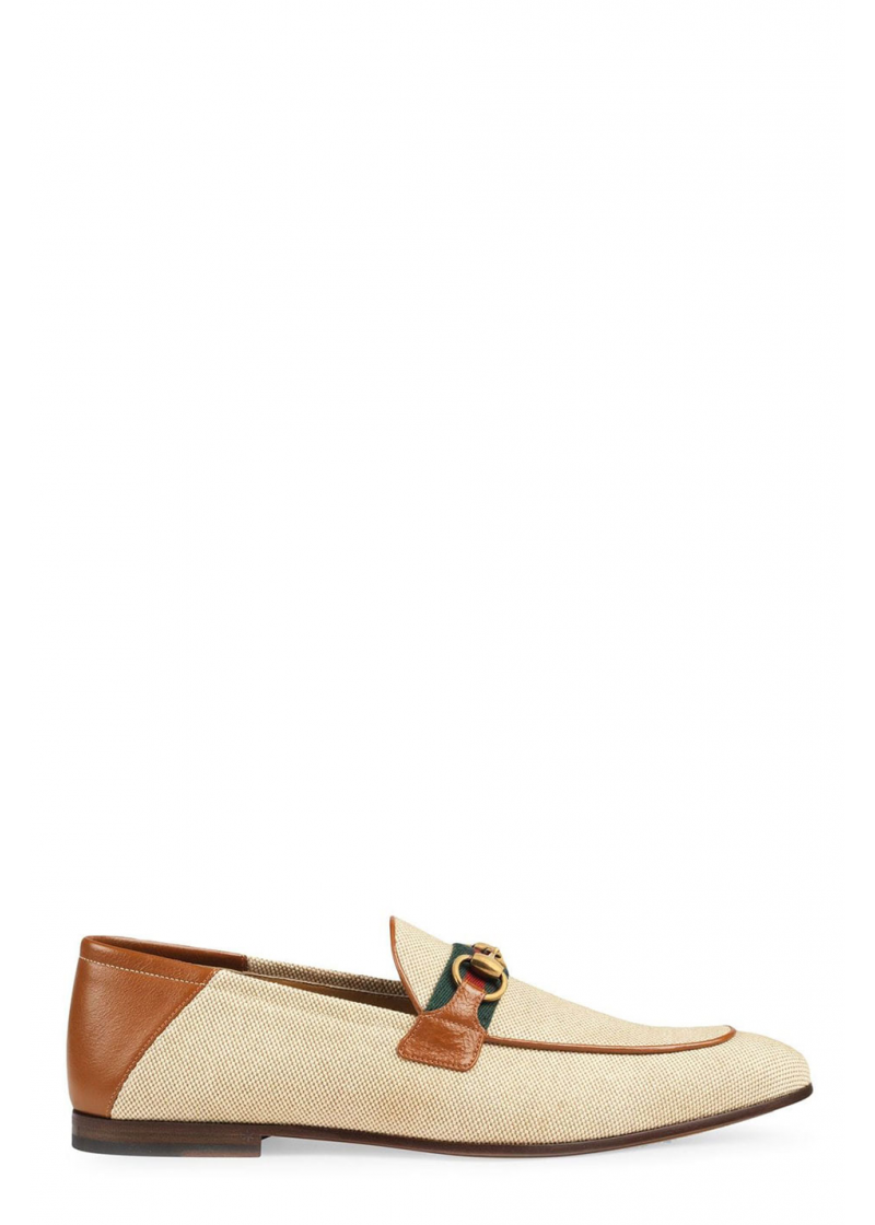 Horsebit loafer with Web - 1