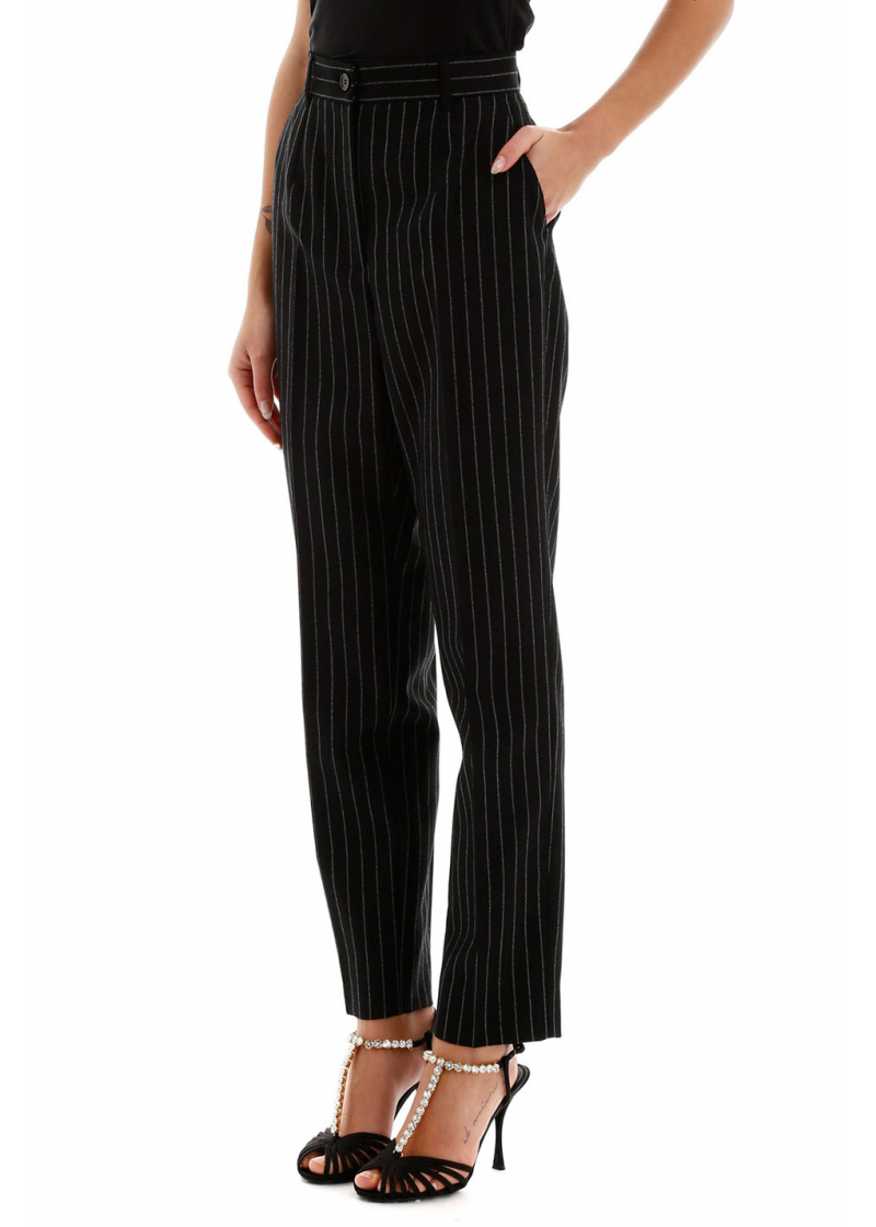 Pinstriped Trousers - 3