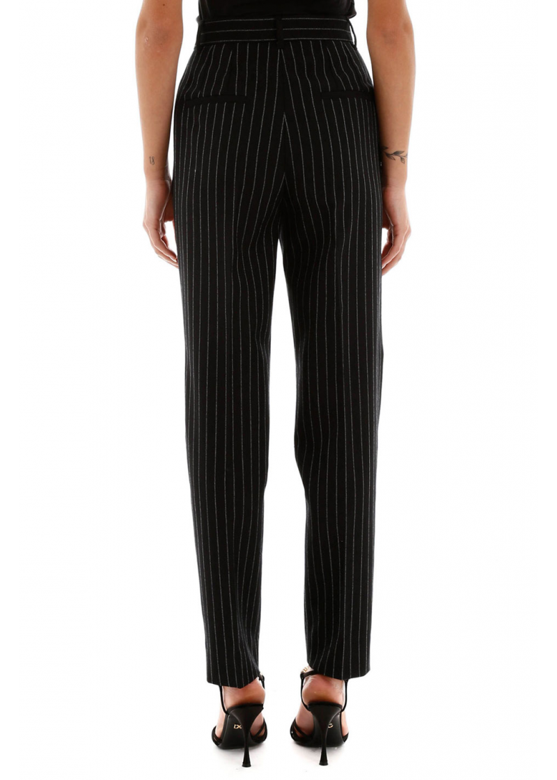 Pinstriped Trousers - 2