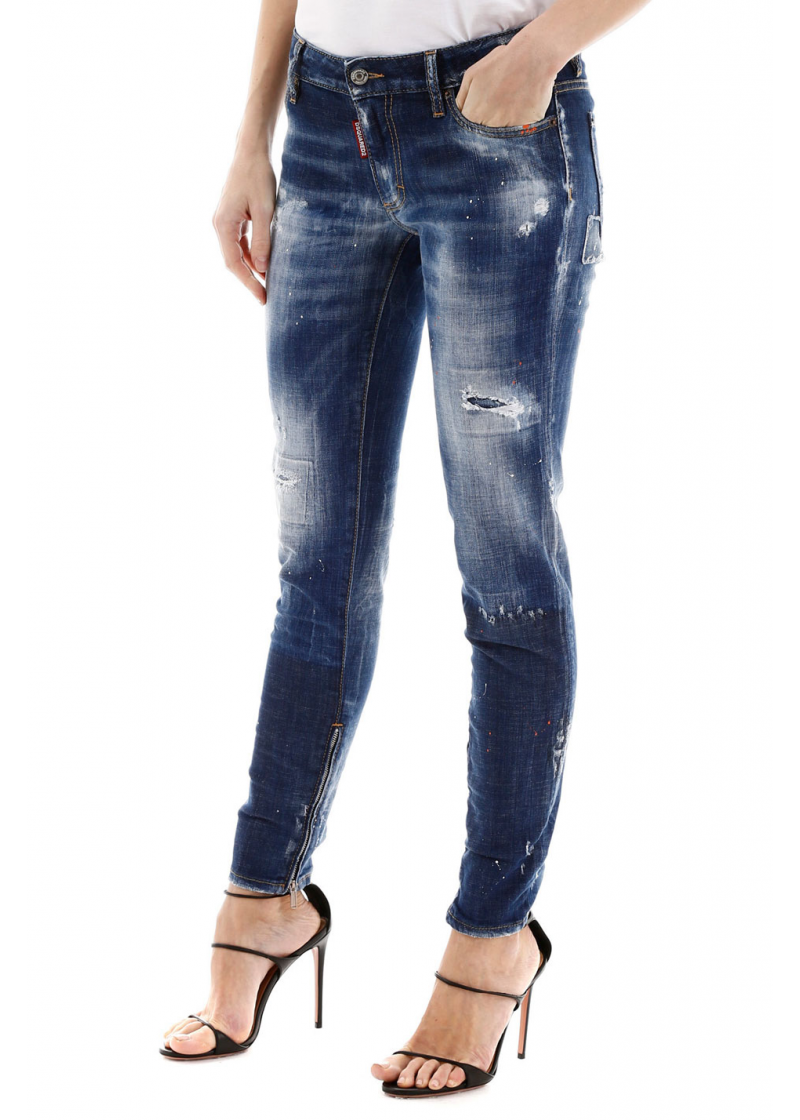 Jeans With Zipped Cuffs - 2