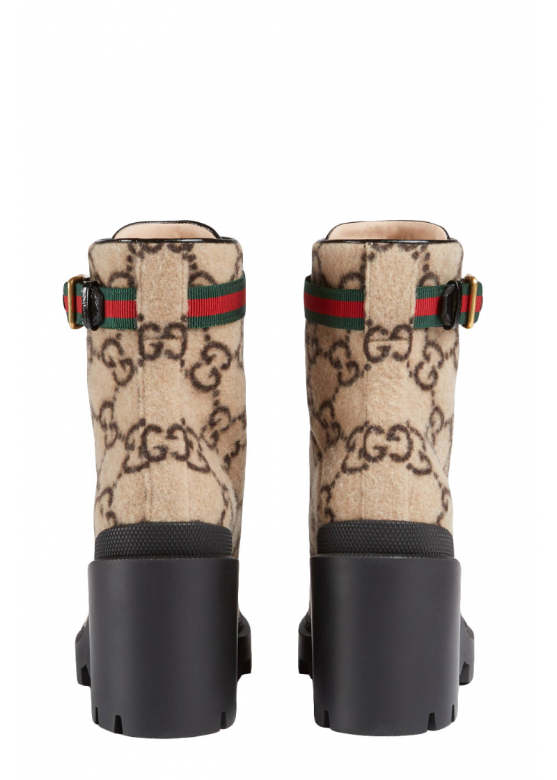 GG wool ankle boot - 3