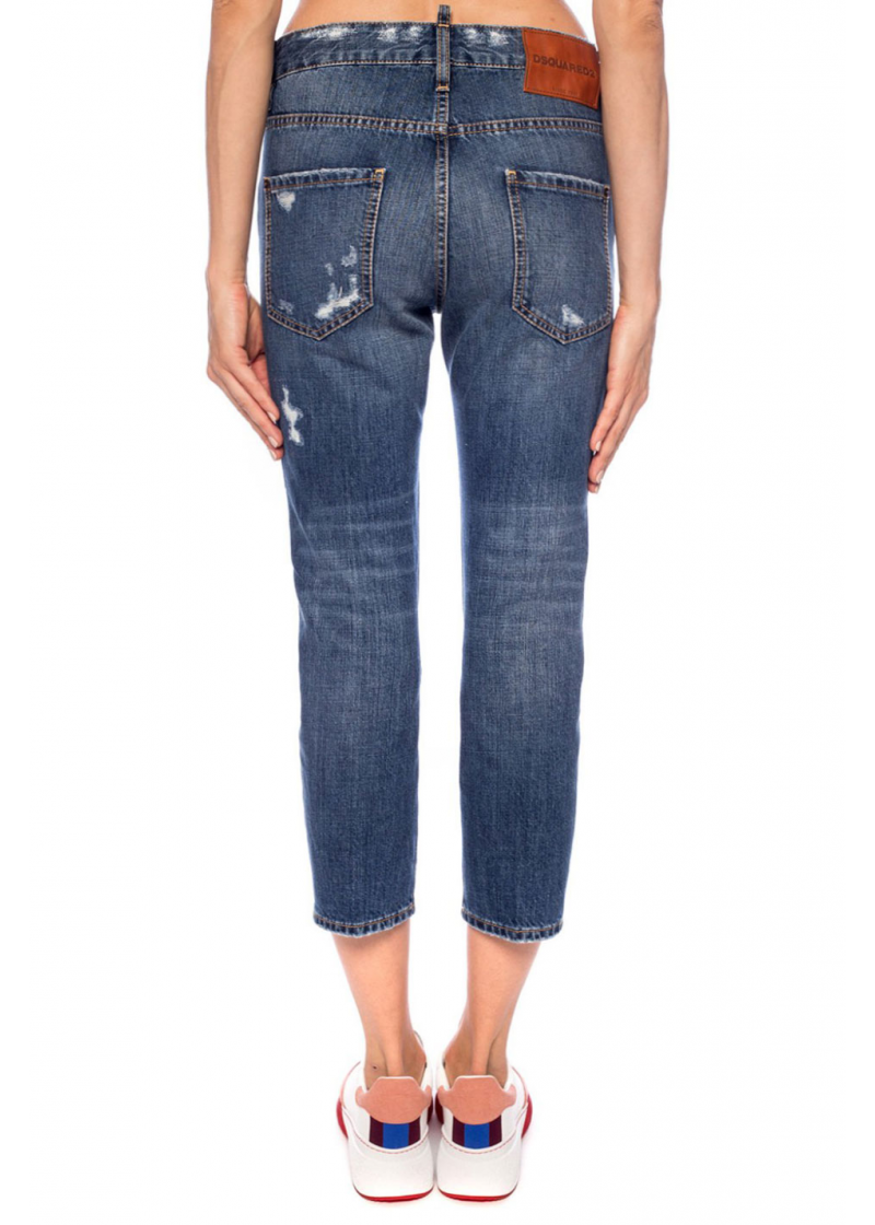 Cool Gril Cropped Jeans - 2